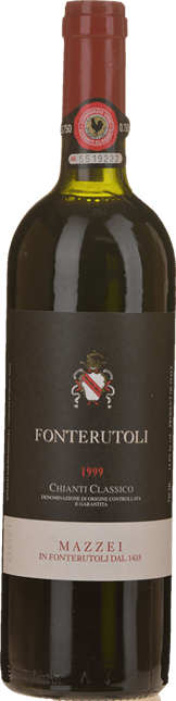 CASTELLO DI FONTERUTOLI, Chianti Classico 1999