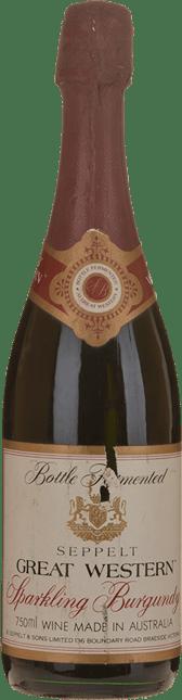 SEPPELT Sparkling Burgundy, Great Western NV