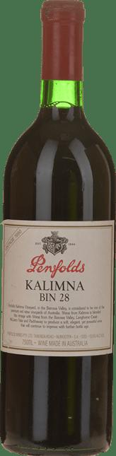 PENFOLDS Kalimna Bin 28 Shiraz, South Australia 1990