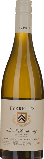 TYRRELL'S Vat 47 Chardonnay, Hunter Valley 2019