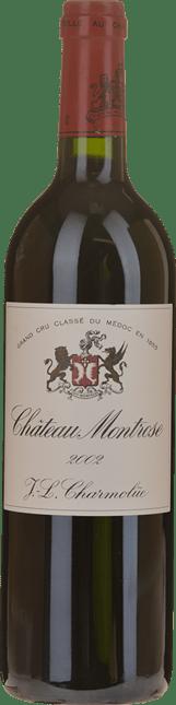 CHATEAU MONTROSE 2me cru classe, St-Estephe 2002