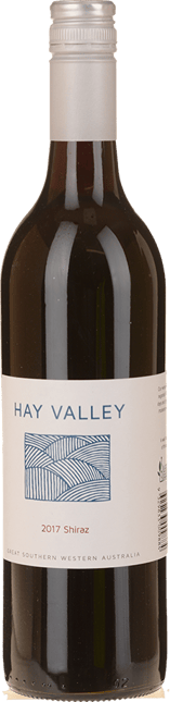 WEST CAPE HOWE Hay Valley Shiraz, Great Southern 2017