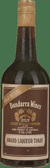 BAILEYS OF GLENROWAN Bundarra Award Liqueur Tokay, Glenrowan NV