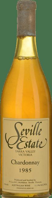 SEVILLE ESTATE Chardonnay, Yarra Valley 1985