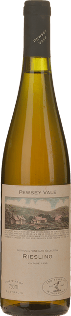 PEWSEY VALE Individual Vineyard Selection Riesling, Eden Valley 1999