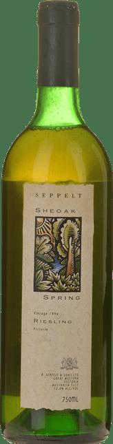 SEPPELT Sheoak Spring Riesling, South Western Victoria 1996