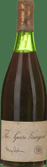 THE SQUIRE VINEYARD Pinot Noir, Hunter Valley 1977
