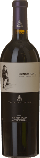 THE COLONIAL ESTATE Mungo Park Shiraz, Barossa 2009