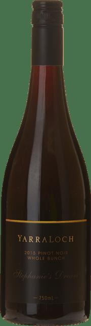 YARRALOCH Stephanie's Dream Whole Bunch Pinot Noir, Yarra Valley 2015