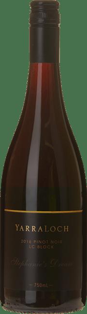 YARRALOCH Stephanie's Dream LC Block Pinot Noir, Yarra Valley 2016