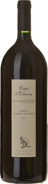 CAPE d'ESTAING Shiraz Cabernet, Kangaroo Island 2001