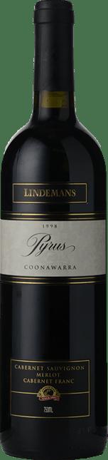 LINDEMANS Pyrus Cabernets, Coonawarra 1998
