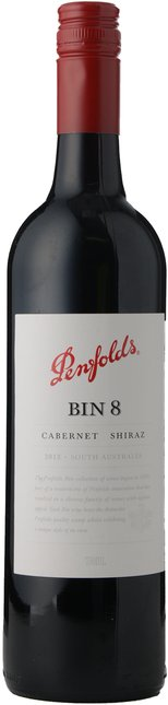 PENFOLDS Bin 8 Cabernet Shiraz, South Australia 2012