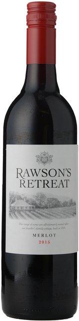 RAWSON'S RETREAT Merlot, South Eastern Australia 2015