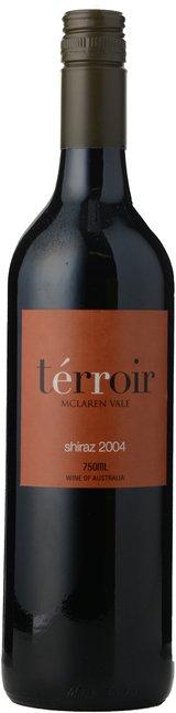 TERROIR WINES Shiraz, McLaren Vale 2004