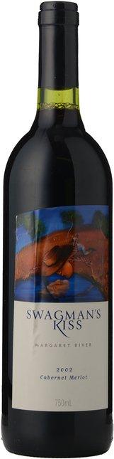 CAPE CLAIRAULT WINES Swagman's Kiss Cabernet Merlot, Margaret River 2002