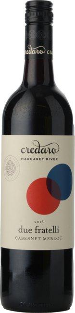 CREDARO WINES Due Fratelli Cabernet Merlot, Margaret River 2016