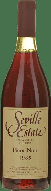 SEVILLE ESTATE Pinot Noir, Yarra Valley 1985