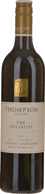 THOMPSON ESTATE The Specialist Cabernet, Margaret River 2015