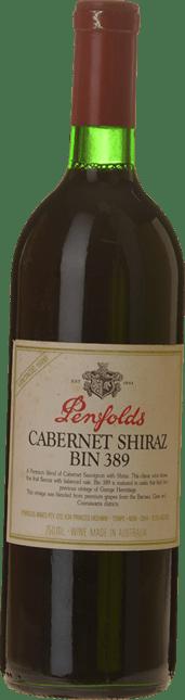 PENFOLDS Bin 389 Cabernet Shiraz, South Australia 1986