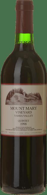 MOUNT MARY Quintet Cabernet Blend, Yarra Valley 1998