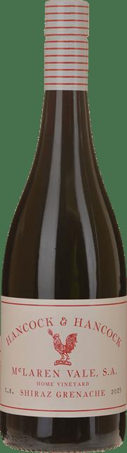 HANCOCK & HANCOCK WINES Home Vineyard Shiraz Grenache, McLaren Vale 2015