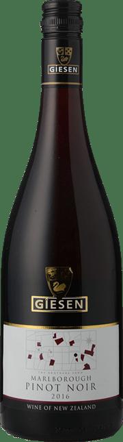GIESEN ESTATE WINES Pinot Noir, Marlborough 2016