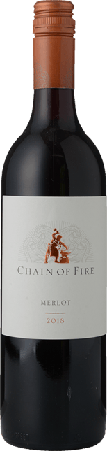 OATLEY WINES Chain of Fire Merlot, Central Ranges 2018