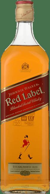JOHNNIE WALKER Red Label Whisky 40% ABV, Scotland NV