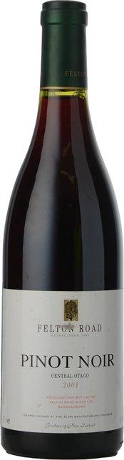 FELTON ROAD Pinot Noir, Central Otago 2001