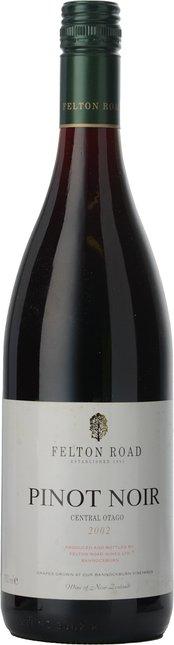 FELTON ROAD Pinot Noir, Central Otago 2002