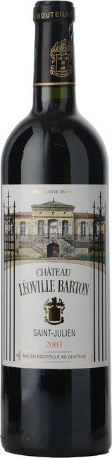 CHATEAU LEOVILLE-BARTON 2me cru classe, St-Julien 2003