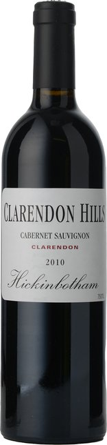 CLARENDON HILLS Hickinbotham Vineyard Cabernet Sauvignon, McLaren Vale 2010