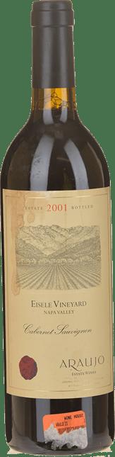 ARAUJO Eisele Vineyard Cabernet Sauvignon, Napa Valley 2001