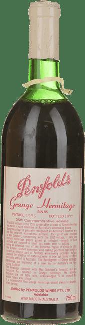 PENFOLDS Bin 95--Grange Shiraz, South Australia 1976
