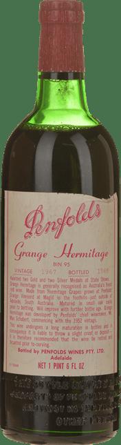 PENFOLDS Bin 95--Grange Shiraz, South Australia 1967