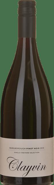 GIESEN ESTATE WINES Single Vineyard Selection Clayvin Pinot Noir, Marlborough 2015