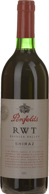 PENFOLDS RWT Shiraz, Barossa Valley 1998