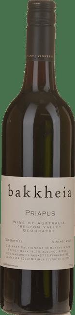 BAKKHEIA  Priapus Cabernet, Geographe W.A. 2015