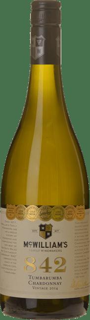 MCWILLIAM'S WINES 842 Chardonnay, Tumbarumba 2014