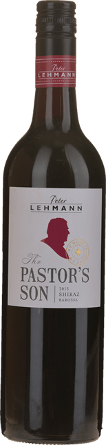 PETER LEHMANN The Pastor's Son Shiraz, Barossa 2013