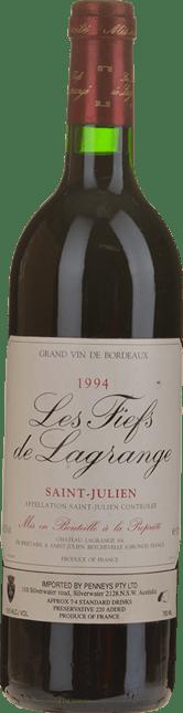 LES FIEFS DE LAGRANGE Second wine of Chateau Lagrange, St-Julien 1994
