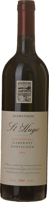 JACOB'S CREEK St. Hugo Cabernet Sauvignon (2002 to 2011), Coonawarra 2004