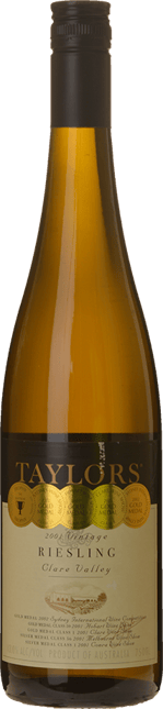 TAYLORS WINES Estate Riesling, Clare Valley 2001