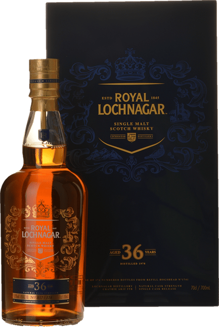 ROYAL LOCHNAGER 36 Y.O 57.6% ABV Single Malt Whisky NV