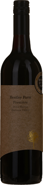 HENTLEY FARM Premiere Shiraz, Barossa Valley 2014