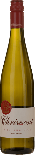 CHRISMONT Riesling, King Valley 2012