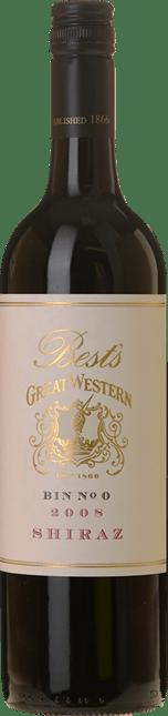 BEST'S WINES Bin 0 Great Western Shiraz, Grampians 2008