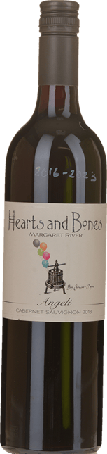 HEARTS AND BONES Angeli Cabernet, Margaret River 2013