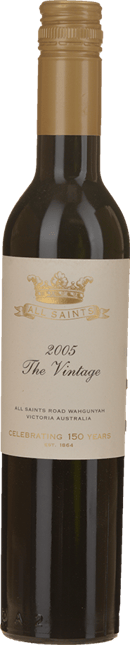 ALL SAINTS The Vintage Celebrating 150 Years Fortified Shiraz, Rutherglen 2005